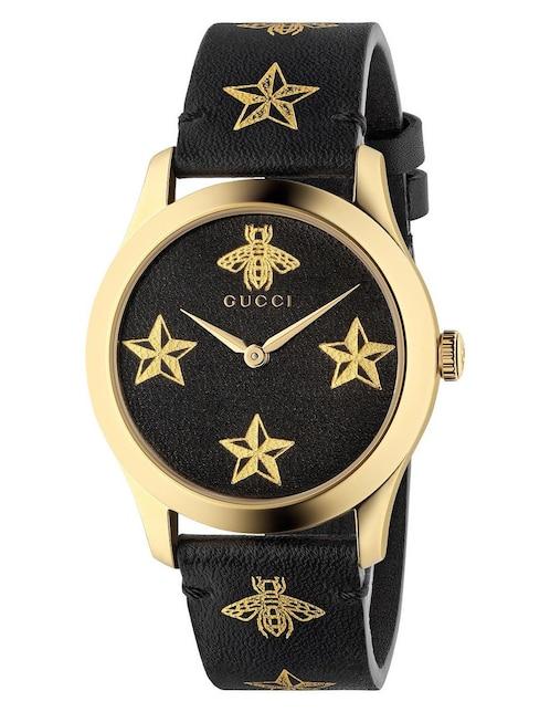 3c1ec6b7dc5 Vista Rápida. Reloj para dama Gucci G-Timeless YA1264055 negro