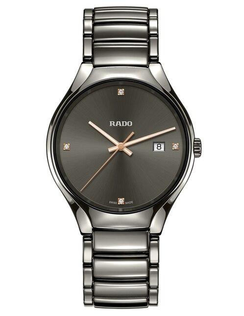be2c2b3797a3 Vista Rápida. Reloj unisex Rado True R27239712 gris
