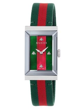 Reloj para dama Gucci G-Frame YA147404 ... 9082f0ce427