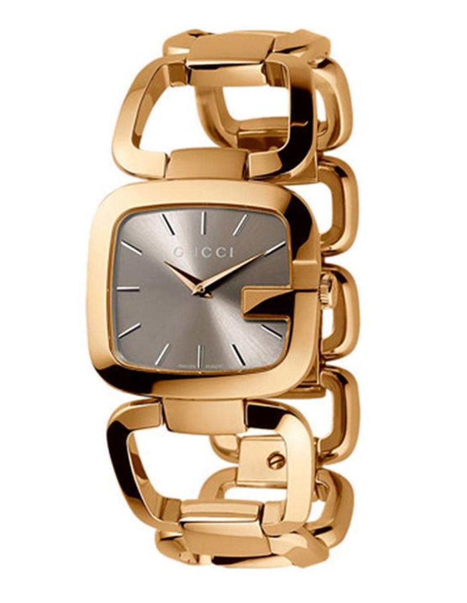 ad771cd31 Reloj para dama Gucci G-Gucci YA125408 dorado