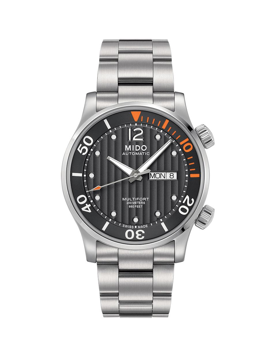 Mido Multifort M0059301106080 Reloj para Caballero Color Acero 632f6e5842ef