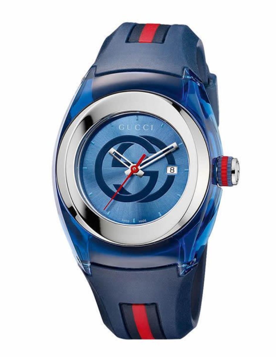Reloj unisex Gucci Sync YA137304 azul acc69577044
