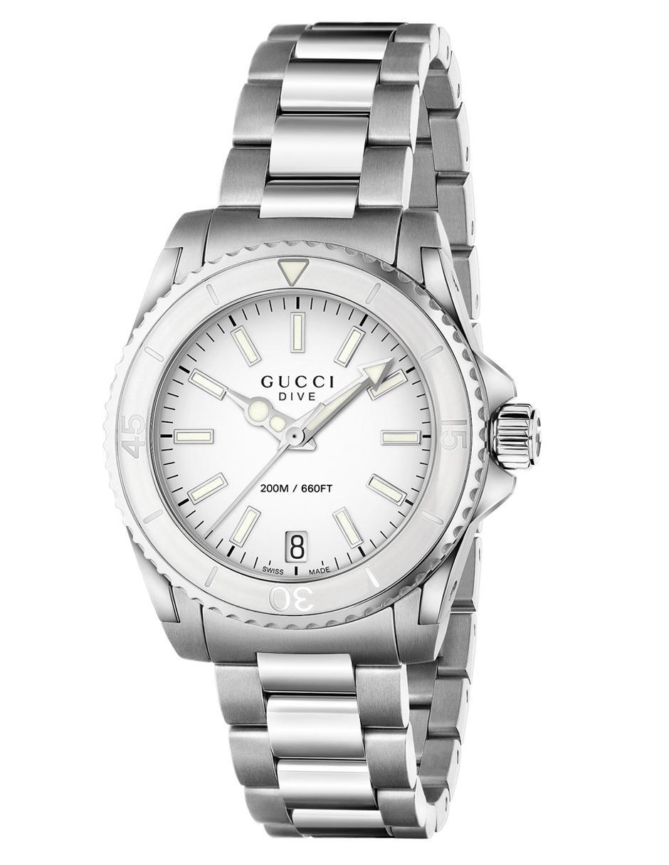 149edeca0ce Reloj unisex Gucci Dive YA136402 acero