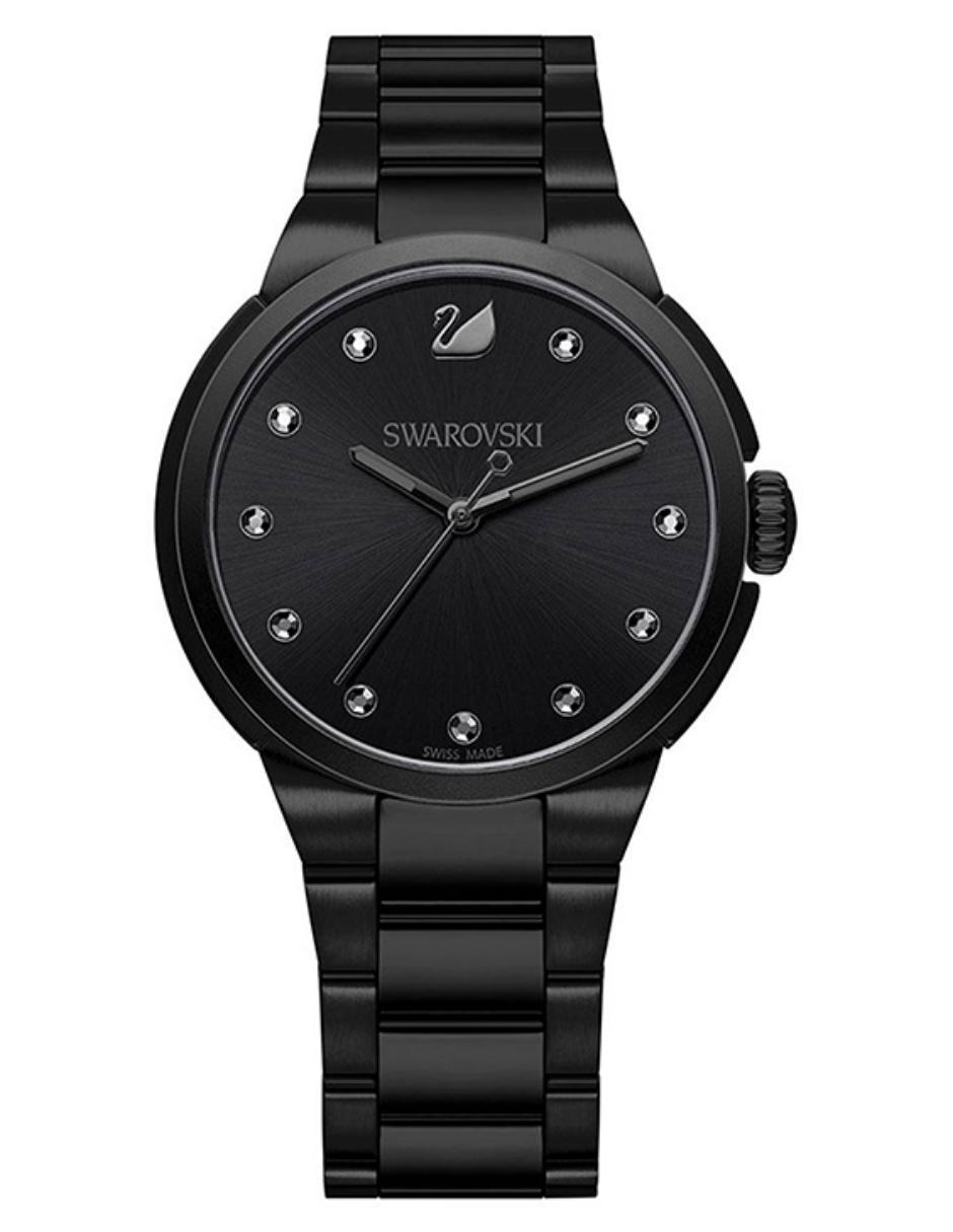 65c8ddf3a5c3 Reloj para dama Swarovski City 5181626 negro
