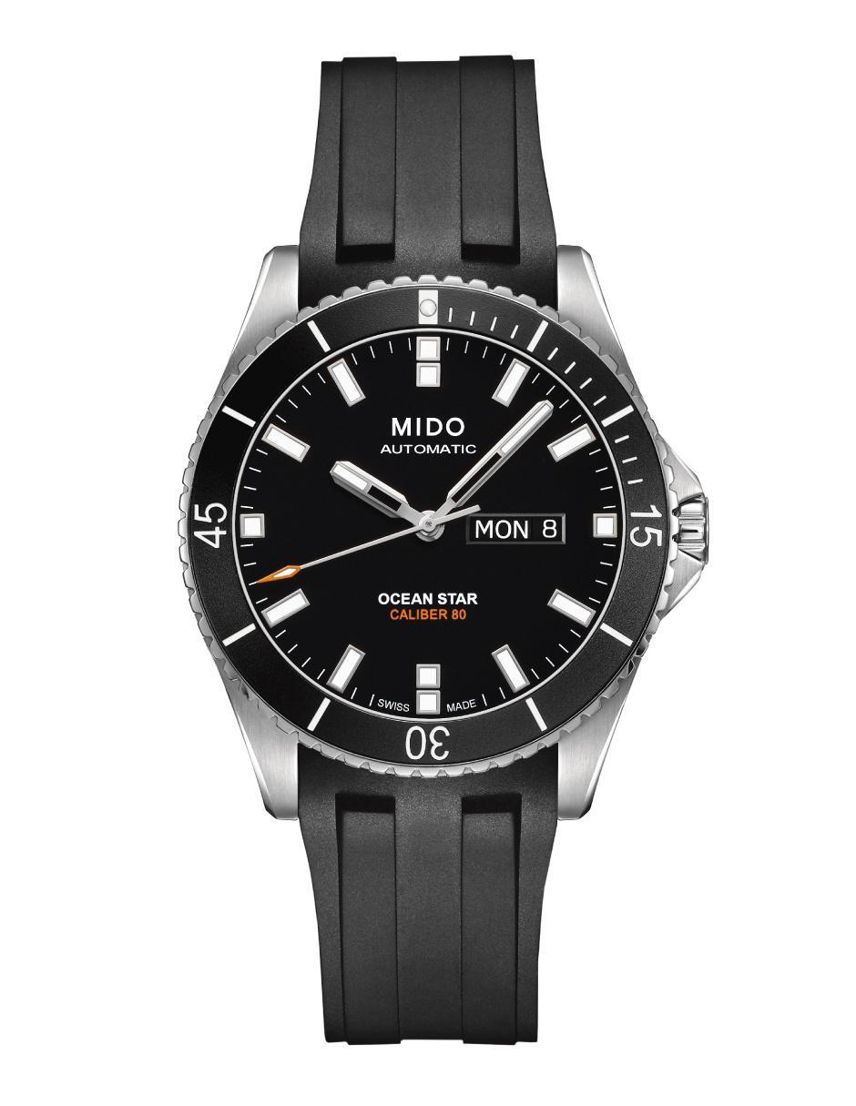 Mido Ocean Star M0264301705100 Reloj para Caballero Color Negra ef79fd506167