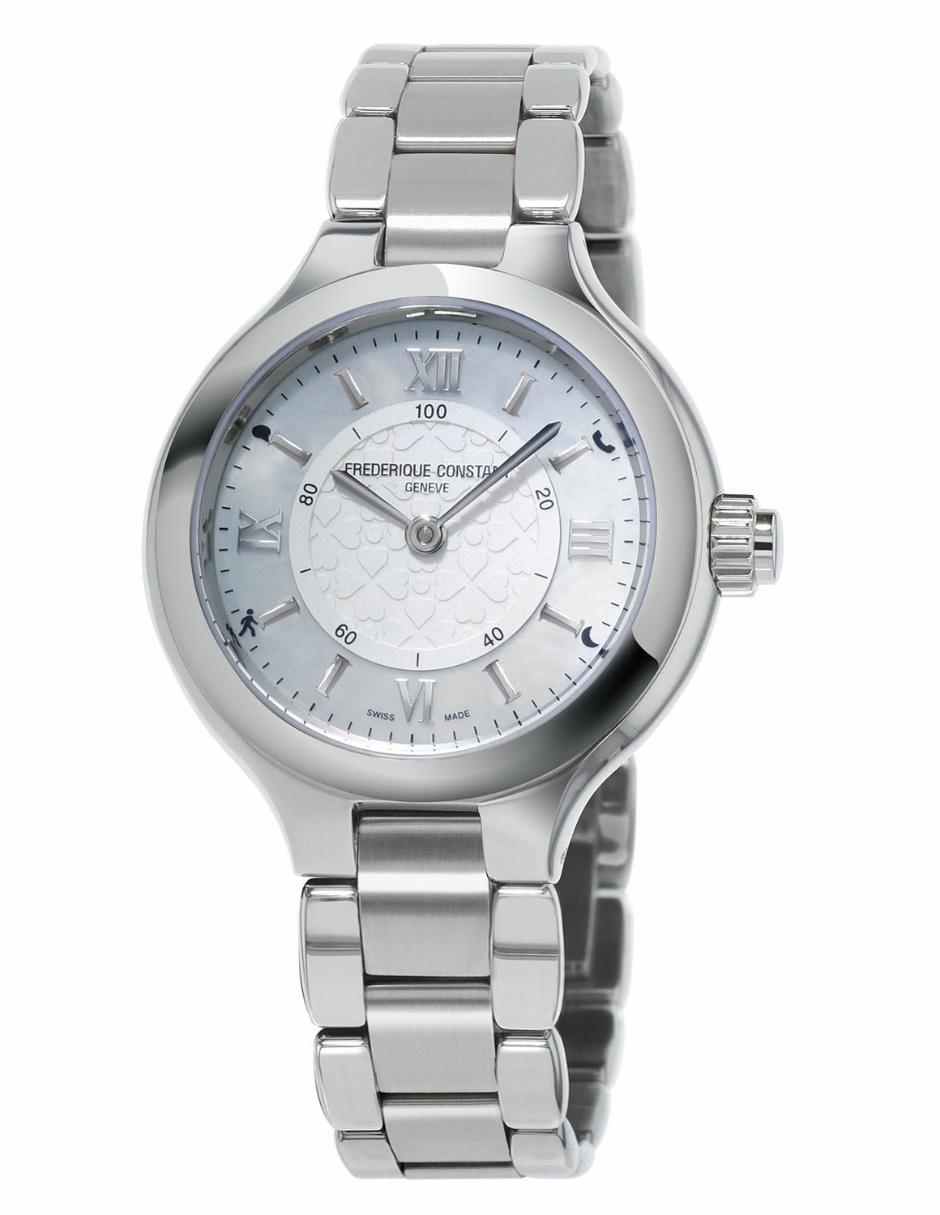 56801e212189 Reloj smartwatch para dama Frederique Constant Horological FC-281WH3ER6B  plata