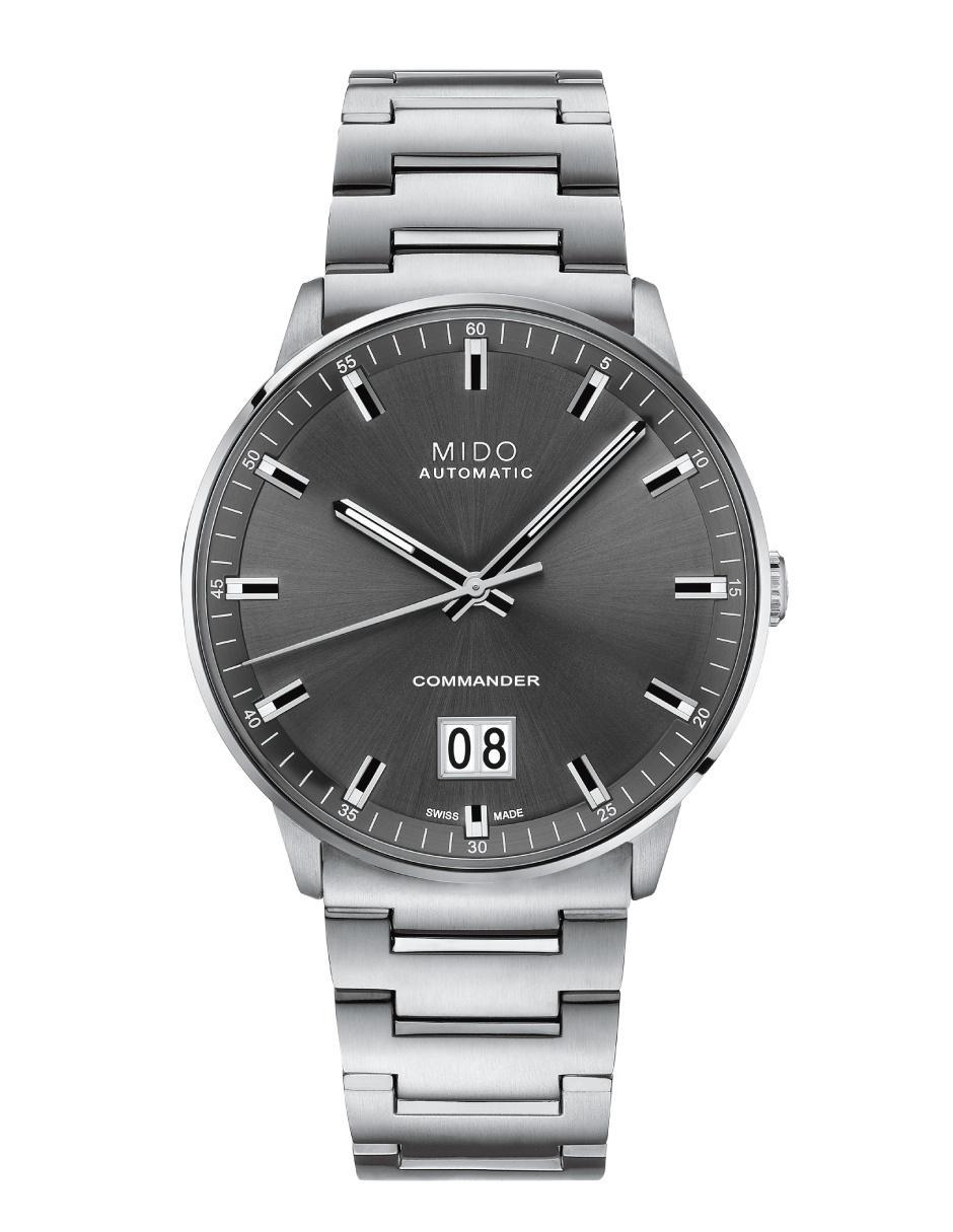 ddd073408360 Reloj para caballero Mido Commander II M0216261106100 Precio ...