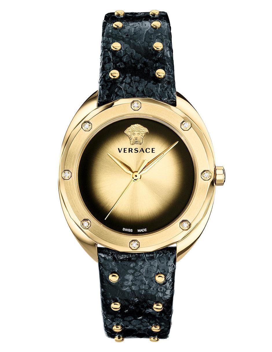 6e1f652a7 Reloj para dama Versace Shadov SHADOV10 negro
