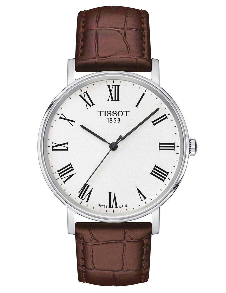 84b6f3682aca Reloj para caballero Tissot T-Classic Everytime T1094101603300 café