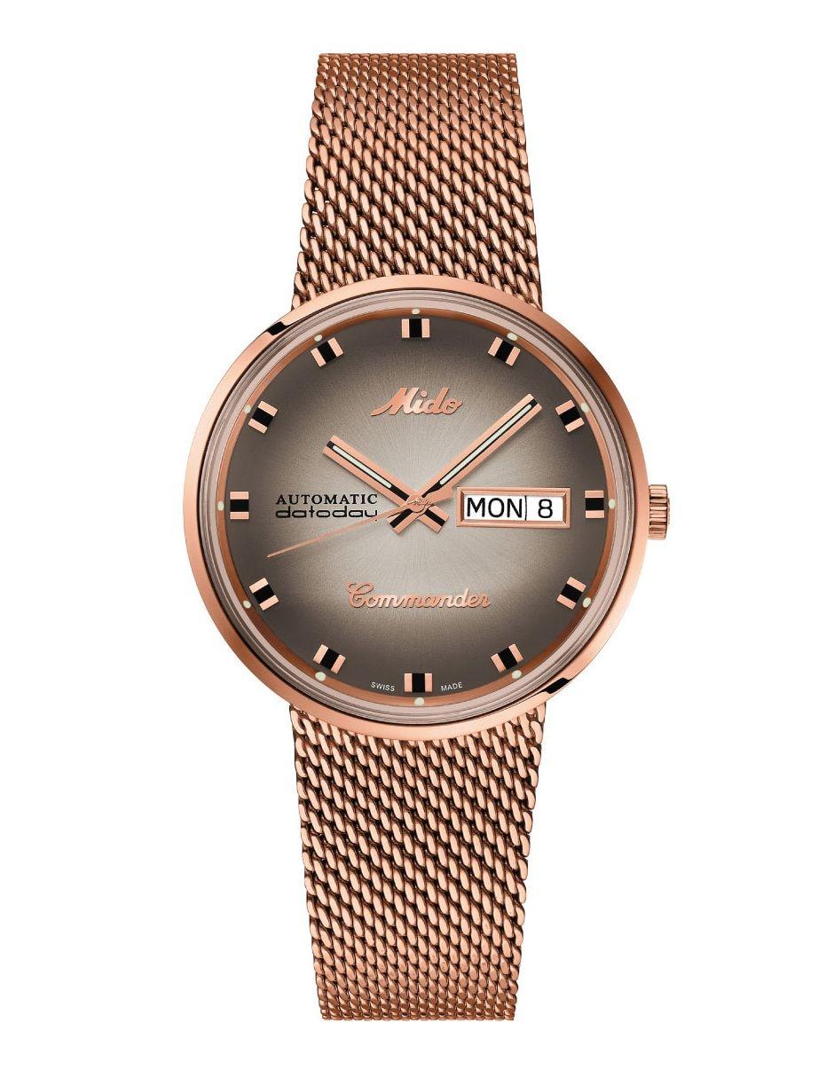 212381f0ef8a Reloj para caballero Mido Commander M842932311