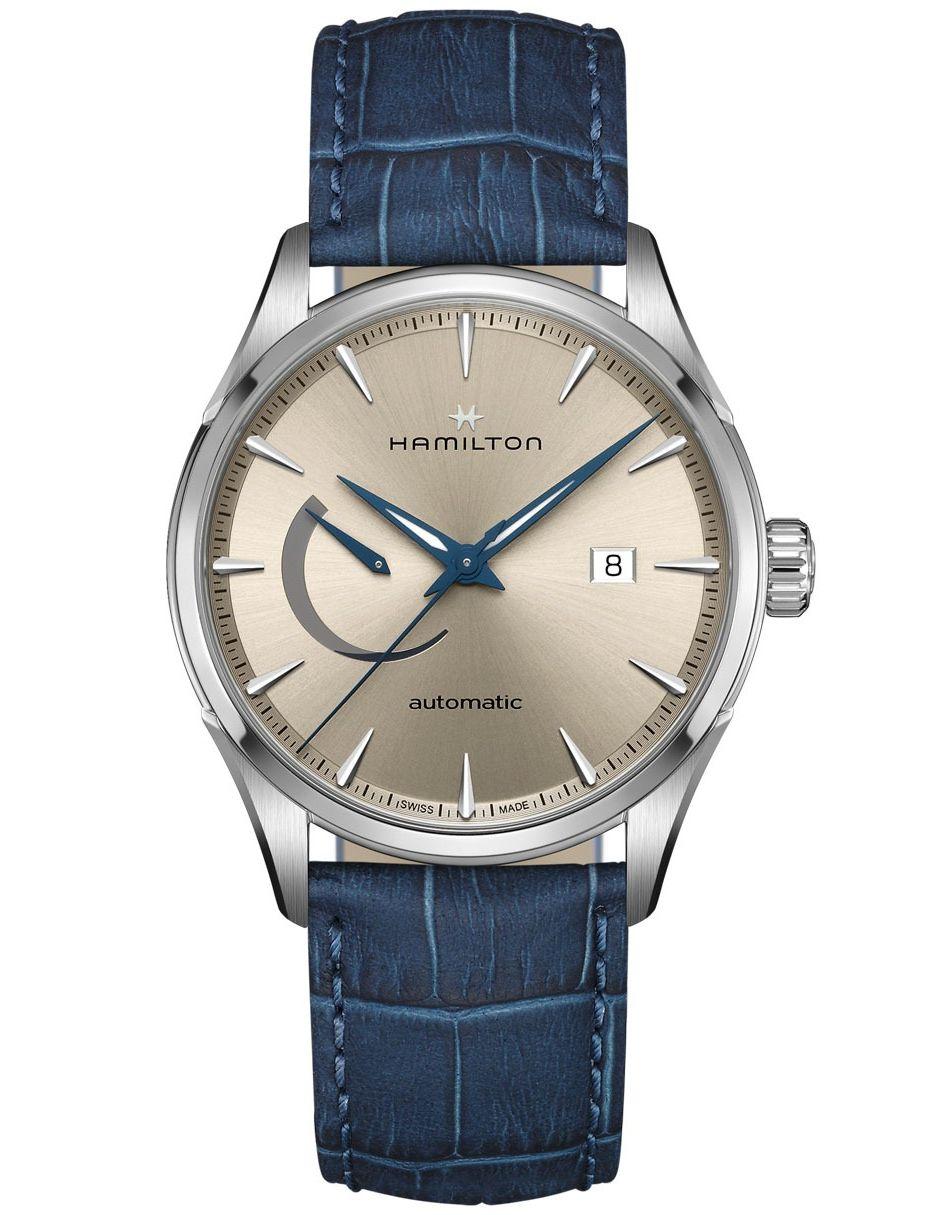 Reloj Jazzmaster Azul Para Caballero Marino Hamilton H32635622 1lJFK3Tc