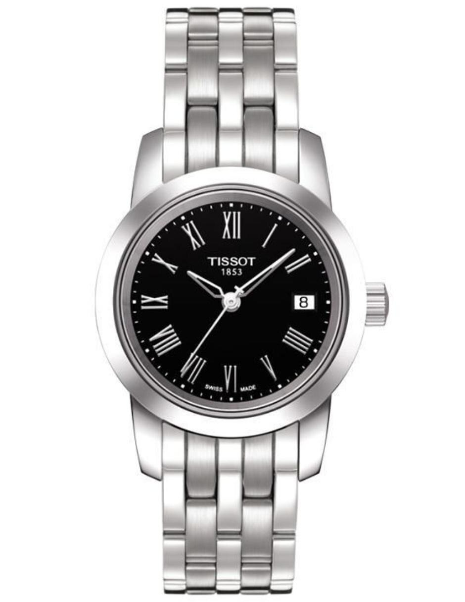 30320ea696b4 Reloj para dama Tissot Classic Dream T0332101105300 acero
